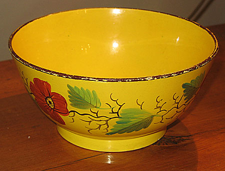 Ceramics<br>Ceramics Archives<br>SOLD  A Canary Yellow Bowl