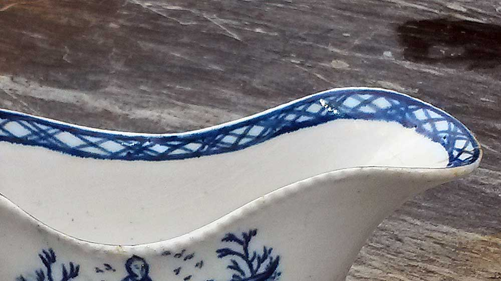 Ceramics<br>18th Century<br>Pennington sauceboat