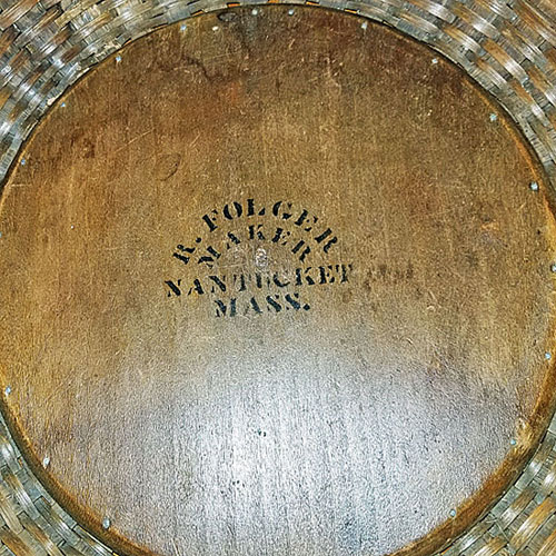 A Magnificent Nantucket Basket