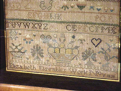 Accessories<br>Accessories Archives<br>SOLD   Sampler from Reading Pennsylvania