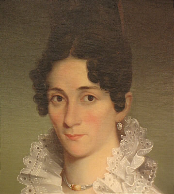 Paintings<br>Archives<br>Portrait of Mrs. Elisha Norcross