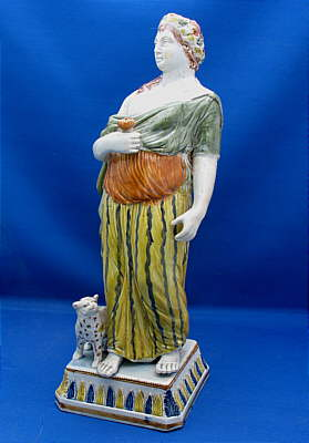 Accessories<br>Archives<br>SOLD   Magnificent Pratt Figure of the Goddess Diana