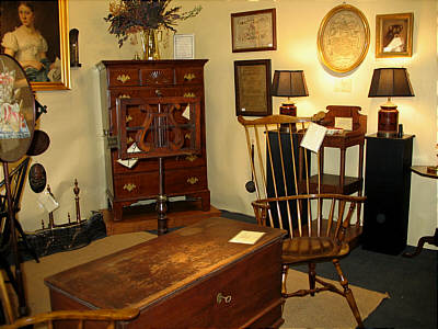 Booth Pics<br>Booths of the Past<br>Litchfield County Antiques Show