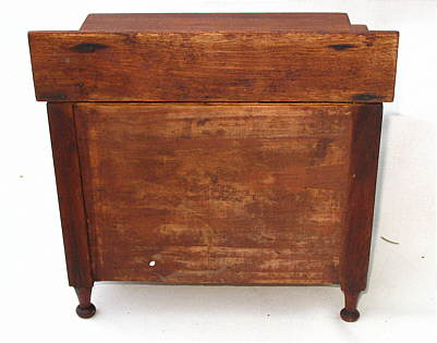 Furniture<br>Furniture Archives<br>SOLD  Miniature Mahogany Chest of Drawers