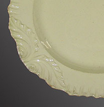 Accessories<br>Archives<br>SOLD   Three Creamware Plates with Swag Borders