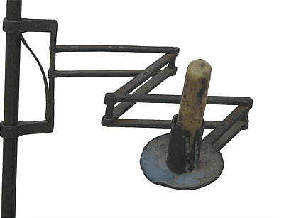 Metalware<br>Archives<br>American Wrought Iron Candlestand