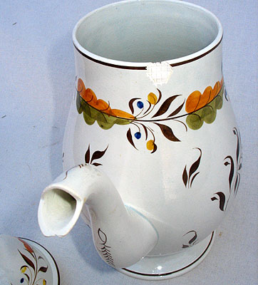 Accessories<br>Archives<br>SOLD   A British Pearlware Coffee Pot