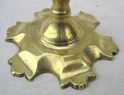 Metalware<br>Archives<br>SOLD   A Single Queen Anne Candlestick