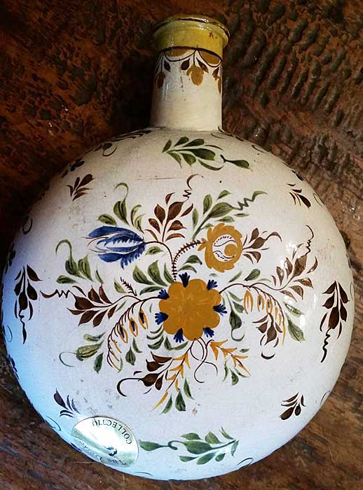 Ceramics<br>Ceramics Archives<br>SOLD Pearlware Flask