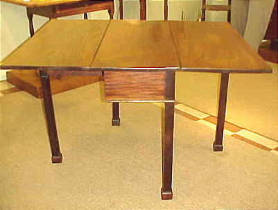 Furniture<br>Furniture Archives<br>SOLD  Philadelphia Chippendale Drop Leaf Table