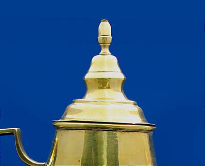 Metalware<br>Archives<br>Dutch Brass Coffeepot