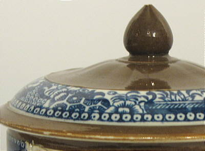 Accessories<br>Archives<br>SOLD   Pearlware Batavia Sugar Bowl