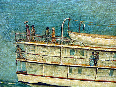 Paintings<br>Archives<br>A Portrait of the Steamer Penobscot