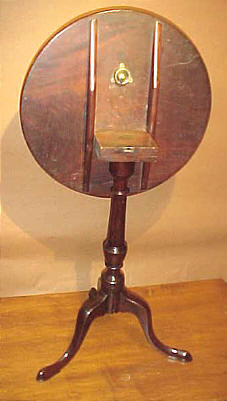 Furniture<br>Furniture Archives<br>SOLD  Rhode Island Candlestand