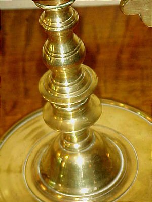 Metalware<br>Archives<br>Pair of Brass Candleabra