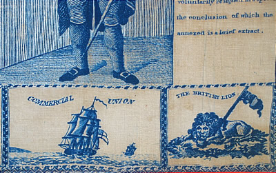 Accessories<br>Accessories Archives<br>SOLD   GEORGE WASHINGTON PRINTED HANDKERCHIEF