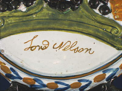 Accessories<br>Archives<br>SOLD   Prattware Plaque of Lord Nelson