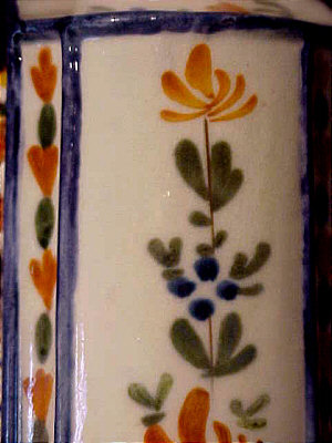 Ceramics<br>Ceramics Archives<br>SOLD   Pearlware Tea Canister
