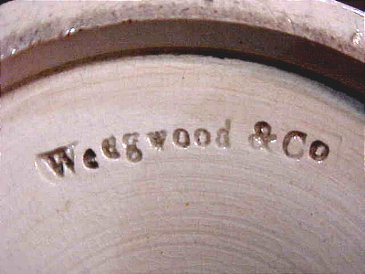 Accessories<br>Archives<br>SOLD   Wedgwood & Co Mocha Vase