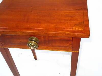 Furniture<br>Furniture Archives<br>SOLD  INLAID FEDERAL ONE-DRAWER STAND