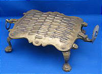 Anthropomorphic Brass Grater