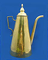 Dutch Brass Coffeepot