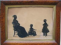 A Mother and Two Children by Hubard Gallery