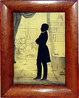 A Silhouette of a Gentleman from Saratoga
