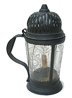 An 18th century Tin & Glass Lantern