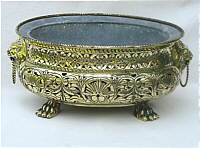 A Pierced Dutch Brass Wine Cooler