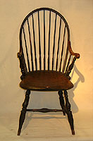 SOLD  Rhode Island Tenon Arm Windsor Chair