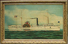 A Portrait of the Steamer Penobscot