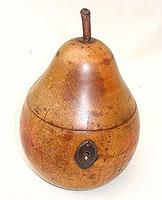 SOLD   Pear Tea Caddy