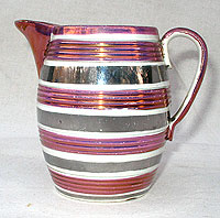 SOLD   A Small-sized Lustre Jug