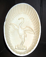 SOLD Liver Bird Creamware Mold