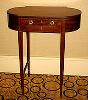 SOLD    An Astragal-end Hepplewhite Ladies Desk