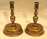 SOLD Pair of Spanish Candlesticks