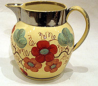 SOLD An Unusual Lustre Jug