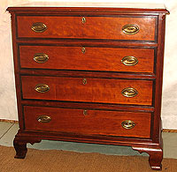 SOLD   An Exceptional Connecticut Chippendale Chest