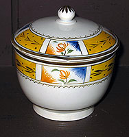 SOLD  An Early 19th Century Sugar Bowl & Cover