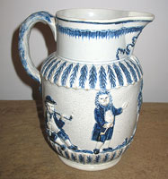 SOLD The Parson, Clerk and Sexton Pratt Jug