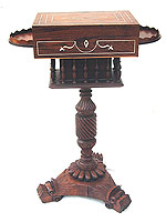 SOLD  An Exquisite Anglo-Indian Ladies Work Table