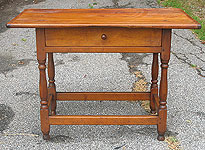 SOLD  A New England 18th Century Tavern Table