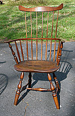 SOLD  A Connecticut comb-back Windsor Armchair