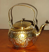 SOLD  Little Brass Kettle