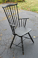 A Pennsylvania Fan-back Armchair
