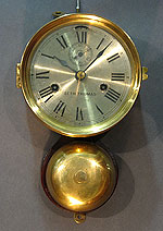 SOLD   Seth Thomas Ship's Clock