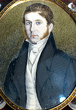 SOLD  Portrait Miniature of a Gentleman