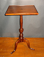 SOLD  Cherry tray-top Candlestand