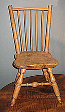 SOLD A Transitional Child's Windsor Chair